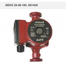 """Циркулационна помпа Geko G81430 25-40-180 / 3,5 m³/h, 1"""", 10 bar, 3,8 м, комплект гайки"""