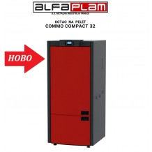 Пелетен котел Commo Compact 32 kW на Алфа-Плам