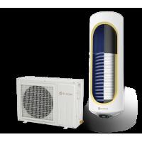 Термопомпен бойлер ЕЛДОМ със соларна серпентина ...