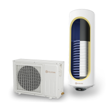 Термопомпен бойлер ЕЛДОМ със соларна серпентина