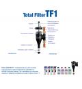 Магнитен циклонен филтър за отоплителната инсталация Fernox Total filter TF1