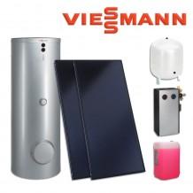Viessmann Промо пакет плоски колектори Vitosol 200-FM и двусерпентинен бойлер Vitocell 100-B